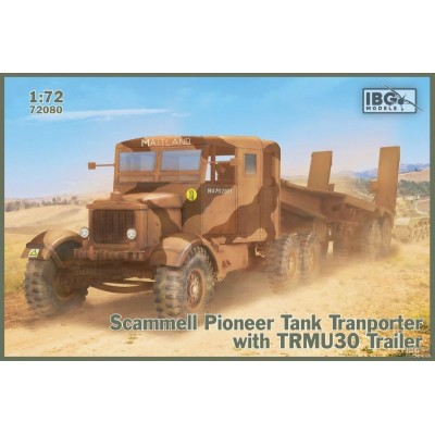 1/72  Scammell Pioneer Tank Transporter with TRMU30 Trailer
