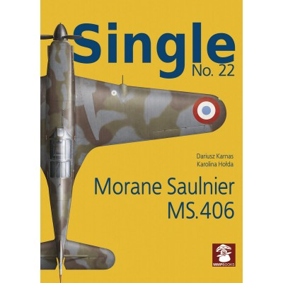Single No. 22 Morane Saulnier MS.406 - French Air Force...