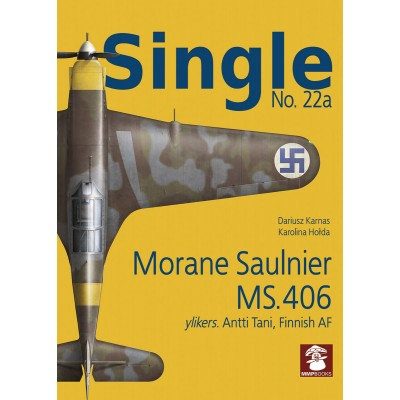 Single No. 22a Morane Saulnier MS.406 -Finnish Air Force...