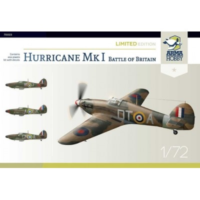 1/72 Hurricane Mk I Battle of Britain – Limited Edition