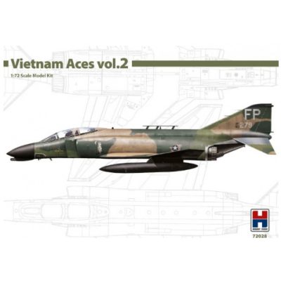 1/72 F-4D Phanton II - Vietnam Aces 2 - Limited Edition