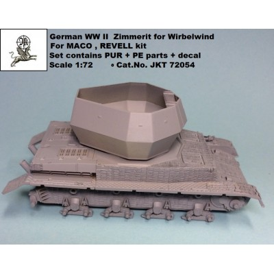 1/72 Zimmerit for Wirbelwind