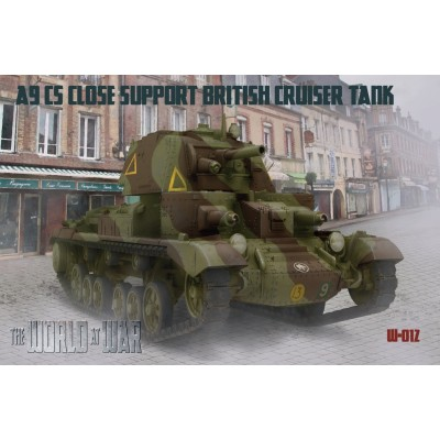 1/72 World At War A9 CS Close Support British Cruiser Tank