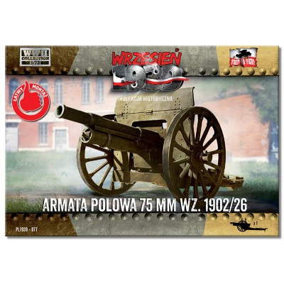 1/72 Field Gun 75mm wz.1902/26