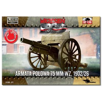 1/72 Field Gun 75mm wz.1902/26