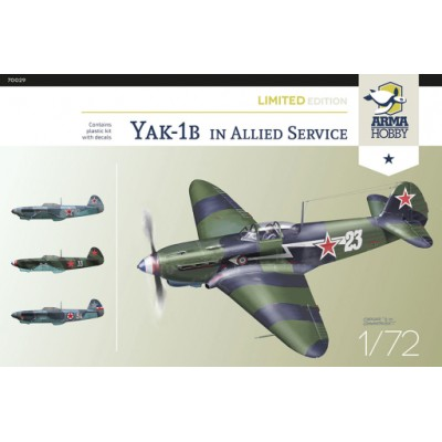 1/72 Yakovlev Yak-1b in Allied Fighter - Limited Edition