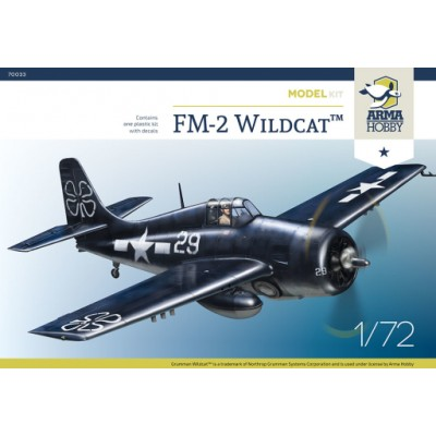 1/72 FM – 2 Wildcat™  Model Kit!