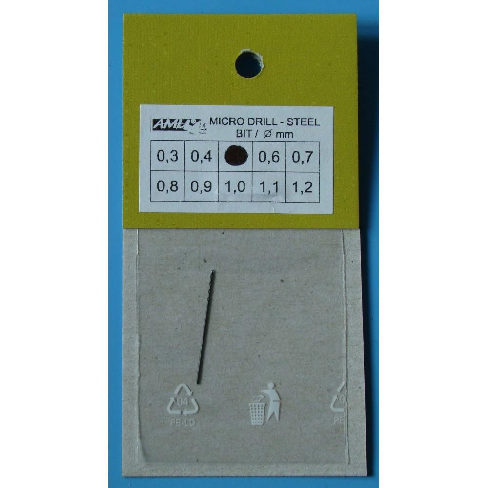Vrták 0,5mm - ocel