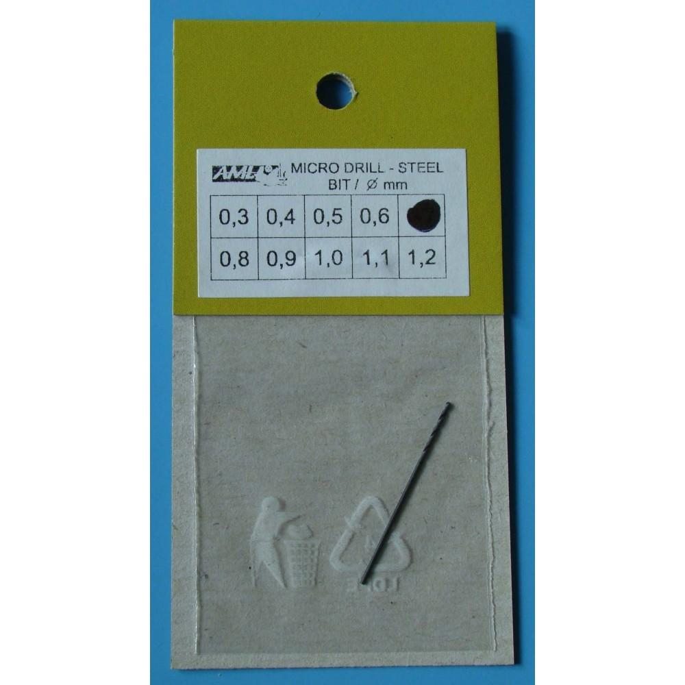 Vrták 0,7mm - ocel