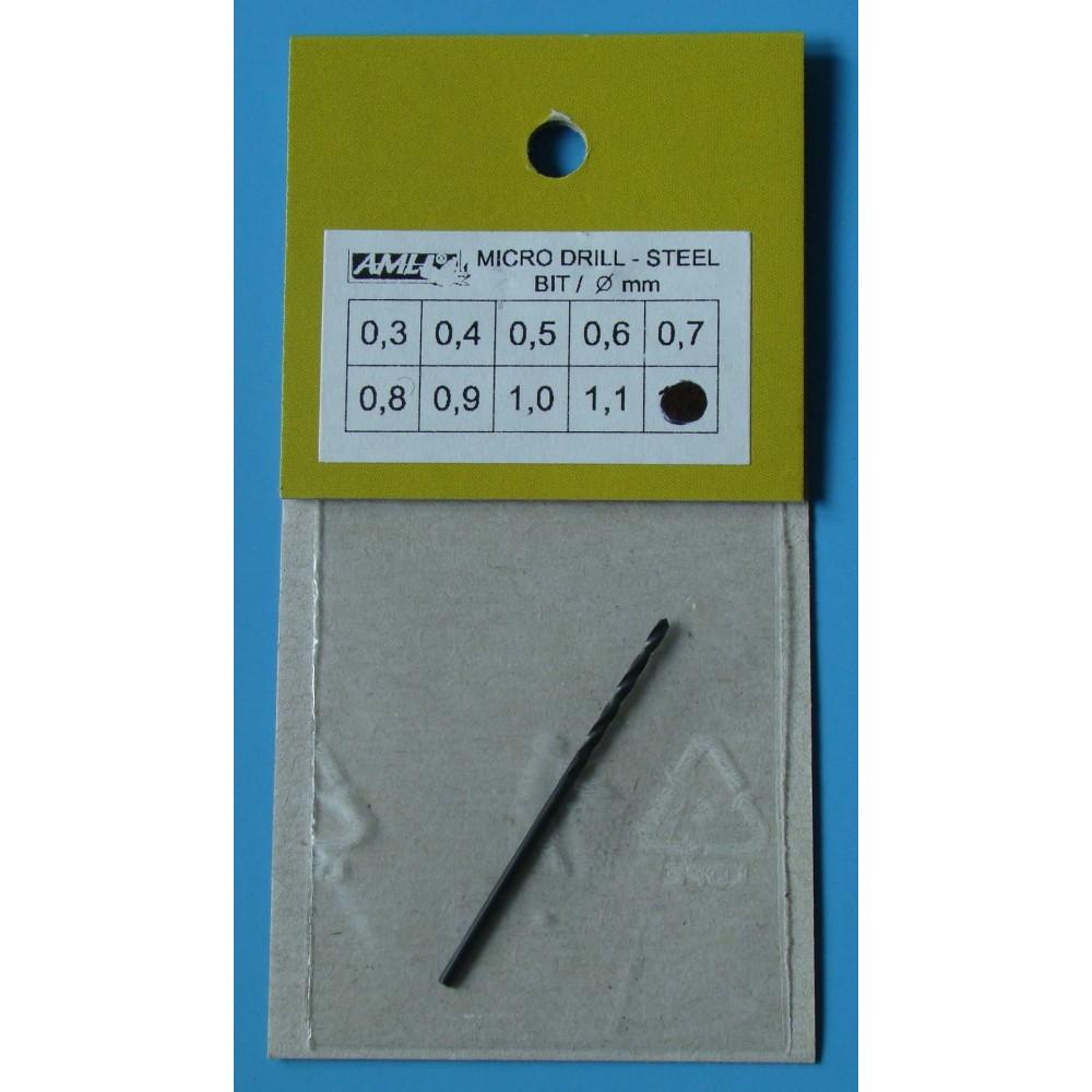 Vrták 1,2mm - ocel