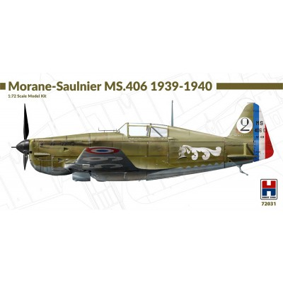 1/72 Morane-Saulnier MS.406 1939-1940 - Limited Edition