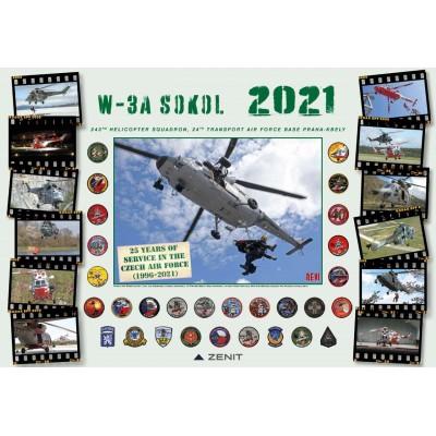 Calendar W-3A Sokol 2021