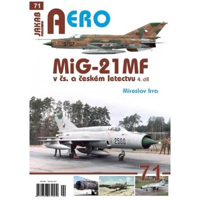 MiG-21 MF v čs. a českém letectvu, 4.díl (M.Irra)