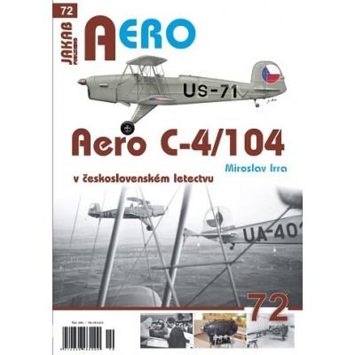 Aero C-4/104 v čs. Letectvu ( M.Irra )