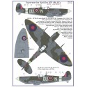 S.Spitfire MK IXC   / 2 decal versions : DUoN, NNoN,       Part II