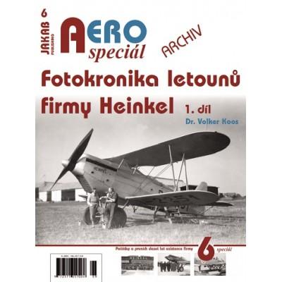 Fotokronika letounů firmyl Heinkel 1.díl ( V.Koos )