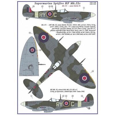 S.Spitfire MK IXC,      Part I