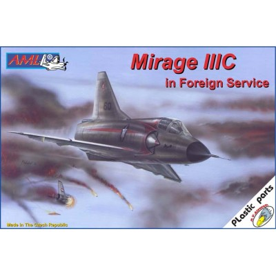 1/72 Mirage IIIC in Foreign Service