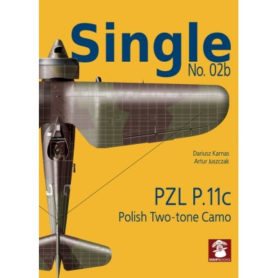 Single No. 2b PZL P.11c polish two-tone camo