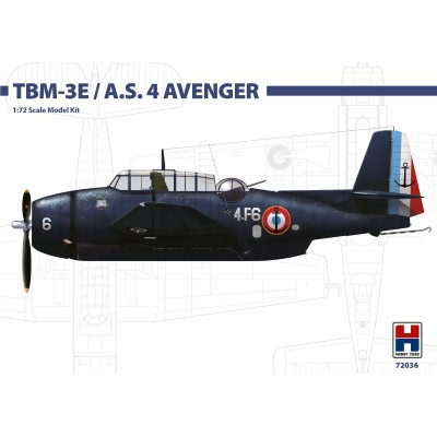 1/72 Grumman TBM-3E Avenger Early - Limited Edition