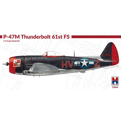 1/72 P-47M Thunderbolt 61st Fighter Squadron - Limited...
