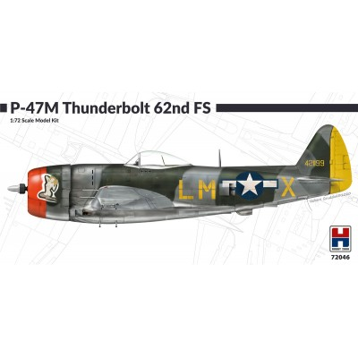 copy of 1/72 P-47M Thunderbolt 61st Fighter Squadron -...