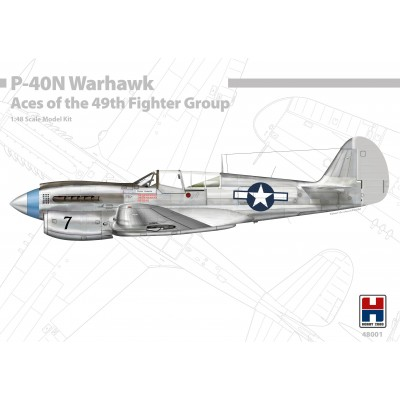 1/48 P-40N Warhawk Aces of the 49th Fighter Group -...