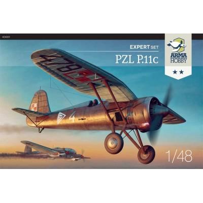 1/48 PZL.11c – Expert Set