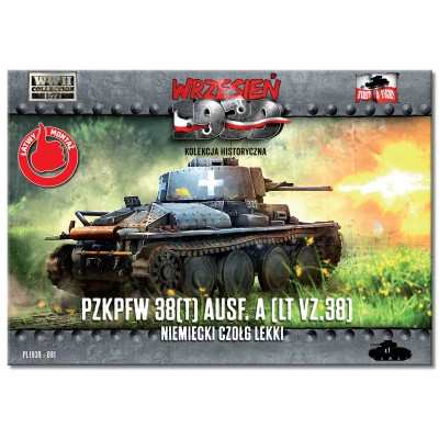 1/72 Pz.Kpfw 38(t) Ausf.A German light tank