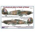 1/72 Czechoslovak pilots in Battle of Britain