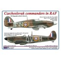 1/72 Czechoslovak commanders in RAF