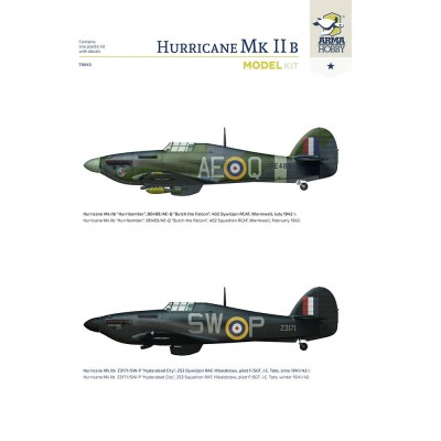 1/72 Hurricane Mk II b Model Kit!