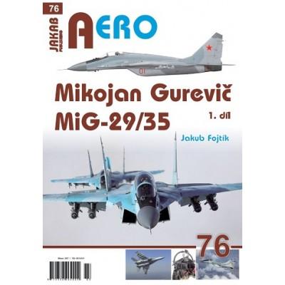 Mikojan Gurevič MiG-29/35 1. vol.