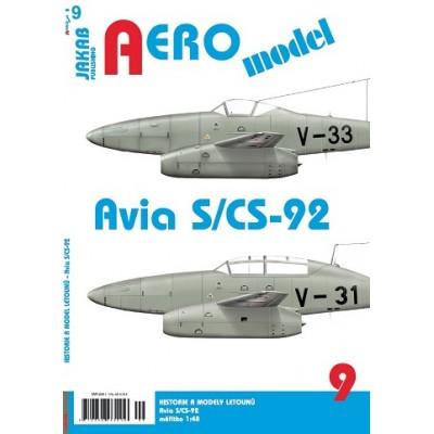 AEROmodel č.9 Avia S/CS-92