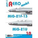 AEROmodel č.10 MiG-21F-13 a MiG-21U