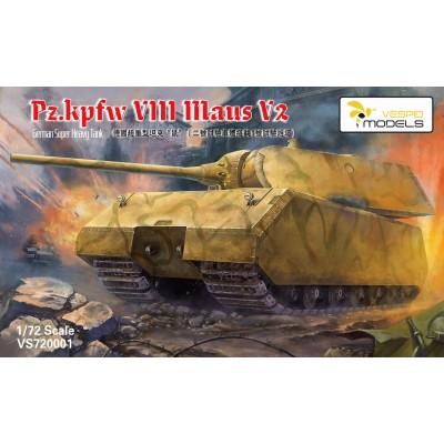 1/72 Pz.Kpfw. VIII Maus V2 German Super Heavy Tank