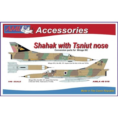 Shahak with Tsniut nose