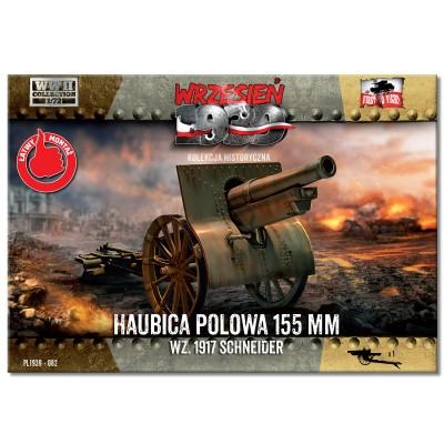 1/72 155mm Howitzer field wz. 1917 Schneider