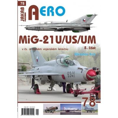 MiG-21U,US,UM v čs. a českém letectvu 2.díl (M.Irra)