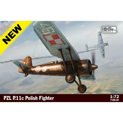 1/72 PZL P .11c Polish Fighter