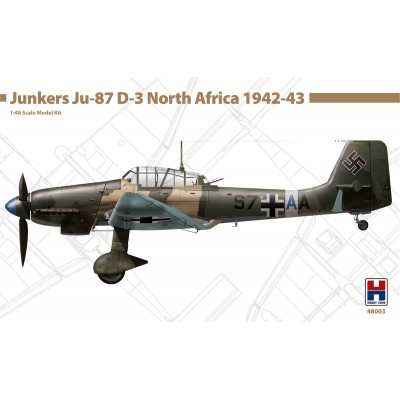 1/48 Junkers Ju-87 D-3 Eastern Front 1943 - Limited Edition