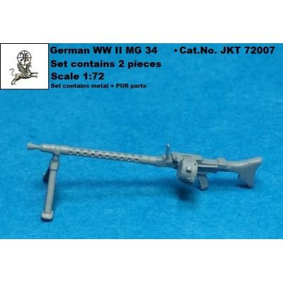 1/72 German WW II MG 34 ( PUR + meteal parts)
