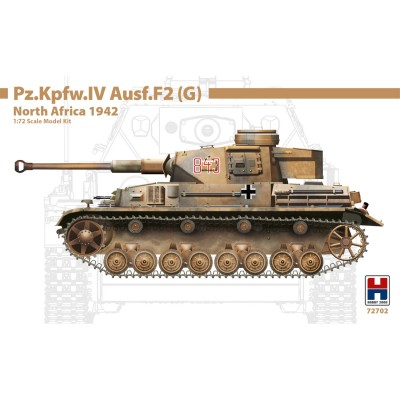 1/72 Pz.Kpfw.IV Ausf.F2 (G) North Africa 1942 - Limited...