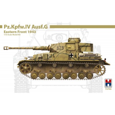 1/72 Pz.Kpfw.IV Ausf.G Eastern Front 1943 - Limited Edition