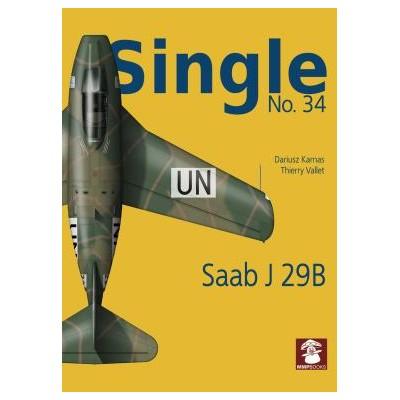 Single No. 34 Saab J 29B