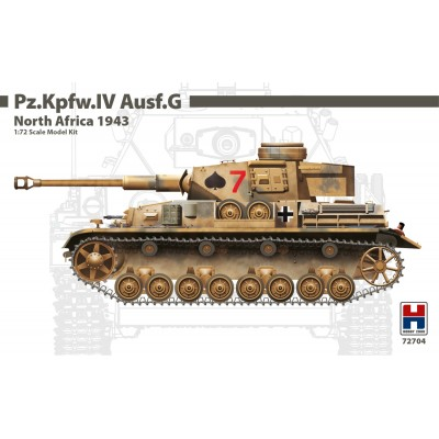 1/72 Pz.Kpfw.IV Ausf.G North Africa 1943 - Limited Edition
