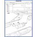 Mirage IIIE / V  exhaust nozzle