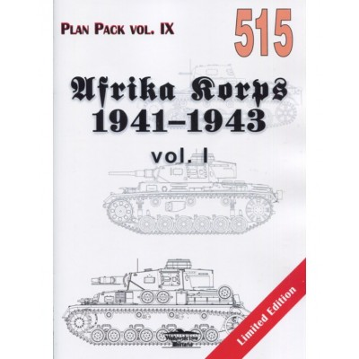 AFRIKA  KORPS 1941-1943 VOL. 1
