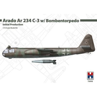 1/72 Arado Ar 234 C-3 w/ Bombentorpedo Initial Production...