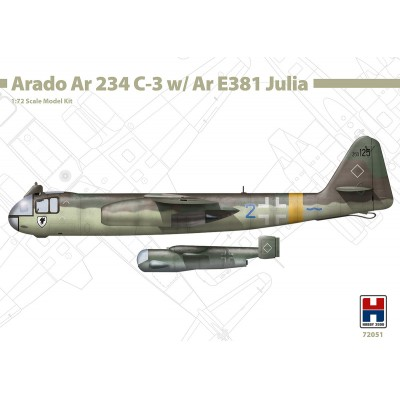 1/72 Arado Ar 234 C-3 w/ Ar E381 Julia - Limited Edition